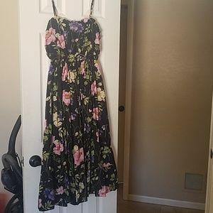 Express Floral Midi Dress